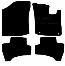 Citroen C1 12-14 2 Clip Version Fully Tailored Black Car Mats Efficient
