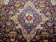 8X11 1960's ONE IN MILLION MUSEUM MASTERPIECE KORK HISTORIC KASHMAR PERSIAN RUG