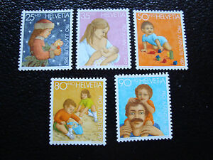 Switzerland-Stamp-Yvert-and-Tellier-N-1288-A-1292-Nsg-A12