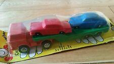 Marx Toys galanite Ford taxi con remolque verde naranja Tansporter + Merc Sabb