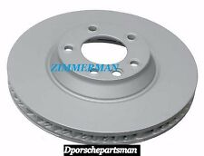 Porsche Cayenne Brake Disc ( 350 x 34 mm ) { Front Left } ZIMMERMAN NEW #NS