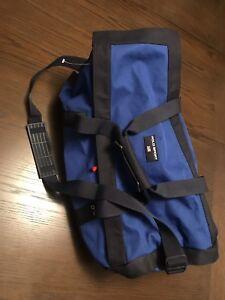 Vintage Polo Sport Ralph Lauren Gym Duffel Bag Blue Medium Size  0a4bae86d8aa2