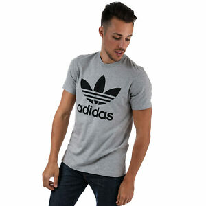 adidas-Originals-T-Shirt-Original-Trefle-Gris-Homme