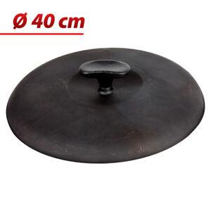 Deckel-aus-Gusseisen-40-cm-Gussdeckel-Braeterdeckel-Topfdeckel-Kazan-Kasan