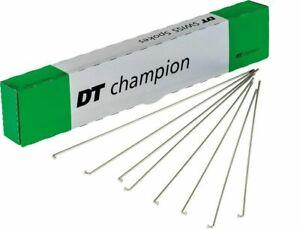 DT Swiss Champion 2.0 x 294mm silver spokes