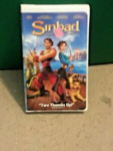 Sinbad: Legend of the Seven Seas (VHS, 2003, Clamshell ...