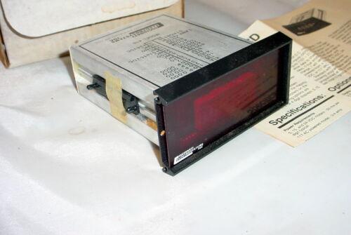 4 Digits Panel Display NOS Cincinnati Electrosystems 416 BCD 7 Segment
