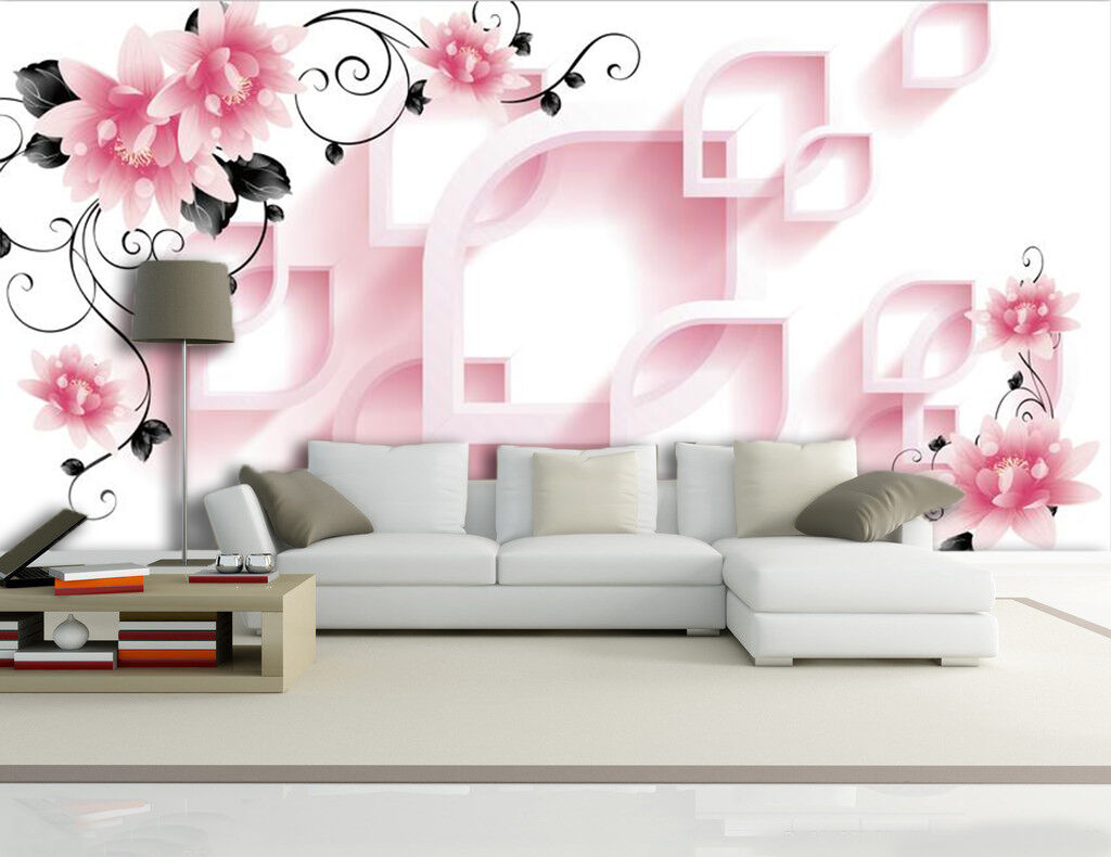 3D fiori 1093 Parete Murale Foto Carta da parati immagine sfondo muro stampa
