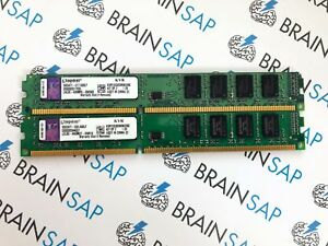 8GB-Kit-2x-4GB-DDR3-RAM-Kingston-ValueRam-KVR1333D3N9K2-8G-PC3-10600U