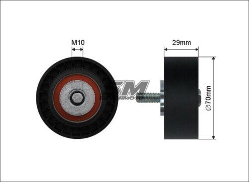 Poulie Leadership pour FIAT Ducato 110 120 Multijet 2,3 D 250 /_, 290 /_