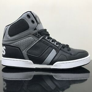 d4f768c21a Image is loading OSIRIS-SHOES-NYC-83-BLACK-GREY-GREY-TRAINERS