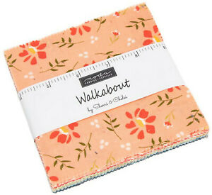 Walkabout-Moda-Charm-Pack-42-100-Cotton-5-034-Precut-Fabric-Quilt-Squares