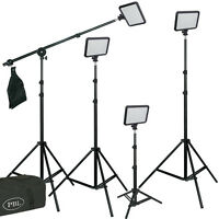 Led 812 Triopo 4 Light Kit Boom Photography Video With Batteries Jensen Best