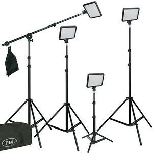 LED-812-Triopo-4-Light-Kit-Boom-Photography-Video-With-Batteries-Jensen-Best