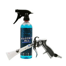 Air pulse cleaning gun car interior cleaning kit auto detailing crevice tool.