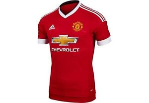 f1f3eee1b Image is loading Adidas-Manchester-United-Adizero-Authentic-Jersey -AC1415-Men-