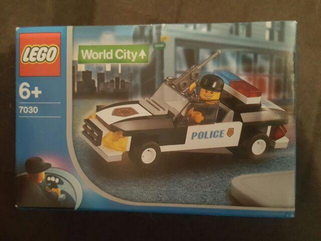 LEGO 7030 World City Squad Car BRAND NEW