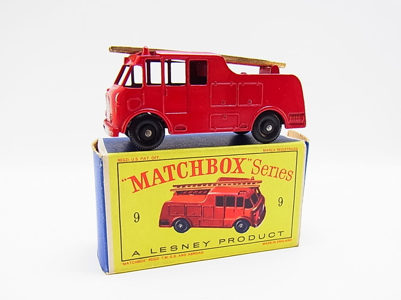 Lot 33344 | MATCHBOX 9 C Merryweather Merryweather Merryweather Ser. III FIRE ENGINE CAMION COME NUOVO  D  - BOX a8e273