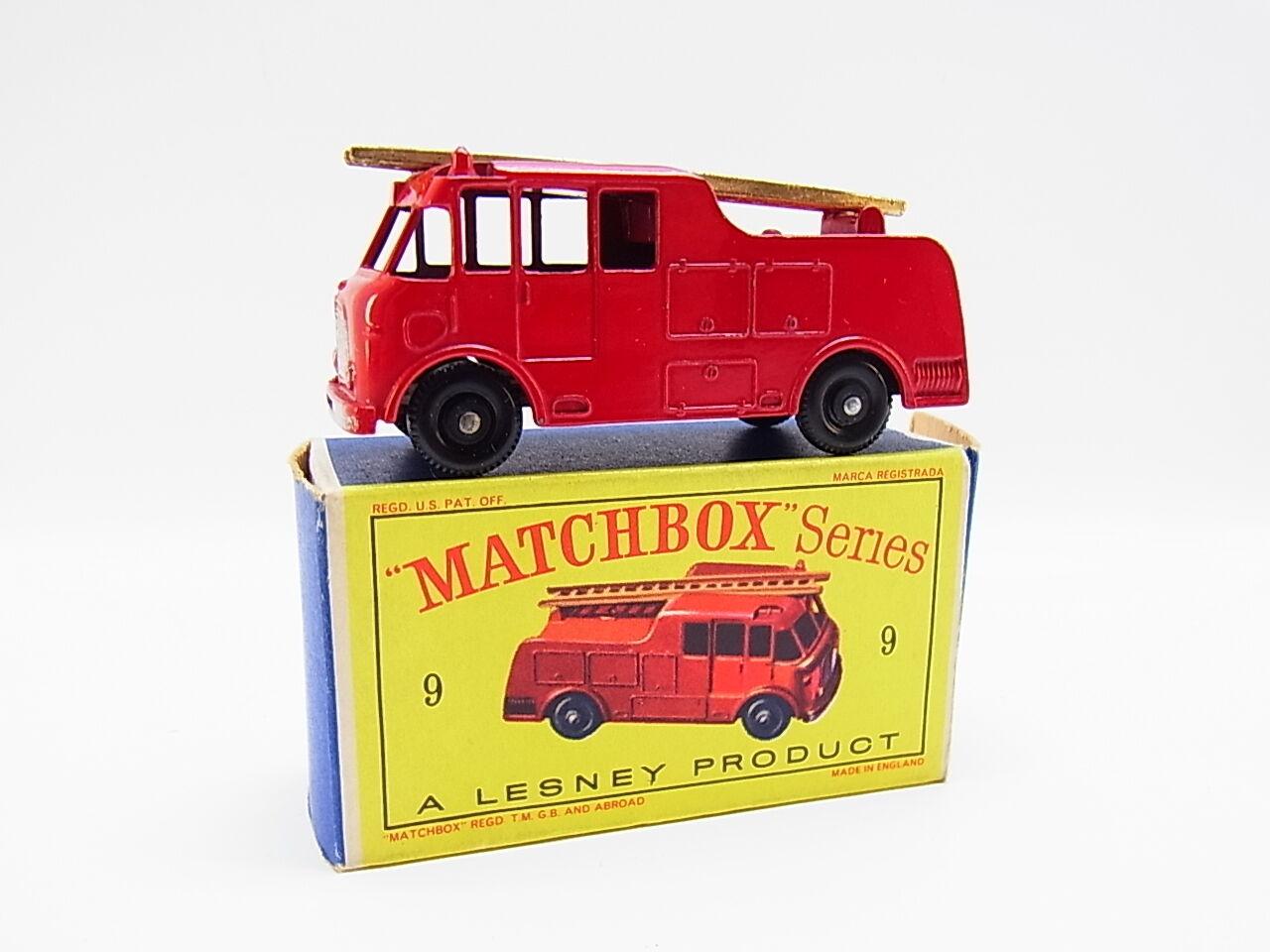 Lot 33344   MATCHBOX 9 C Merryweather  Ser. III FIRE ENGINE CAMION NEUF  D  - Box  vente en ligne