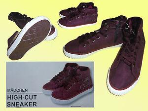 gefütterte Mädchen Sneakers Schuhe Freizeitschuhe Turnschuhe Gr.29 m.Reißver.