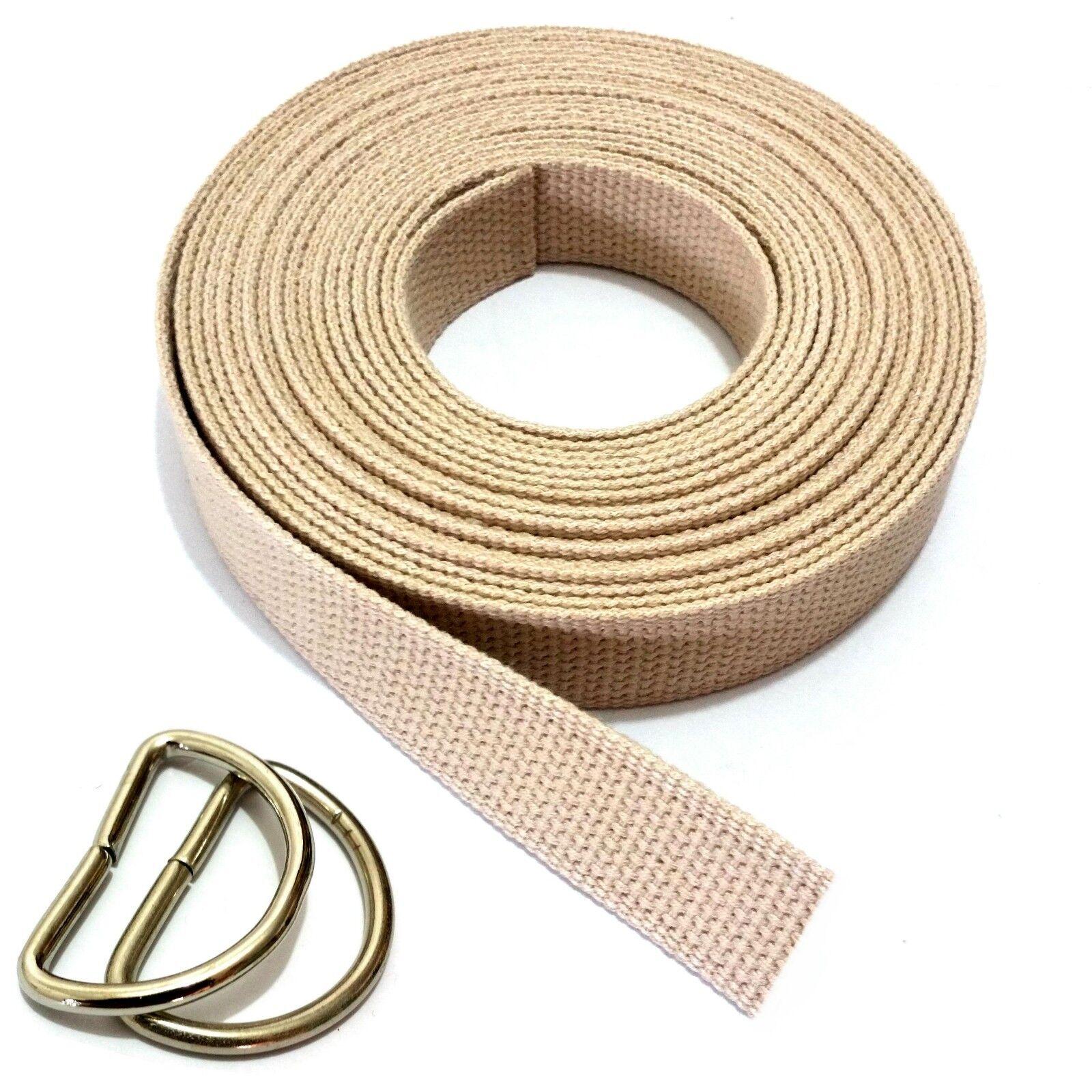 Belt Fabric Belt Belt Webbing Cotton 30mm D Ring Ribbon Belt 100 - 160cm