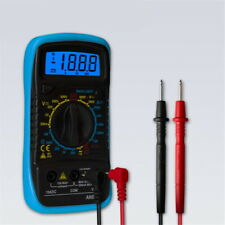 Digital Voltmeter Ammeter Ohmmeter Multimeter Volt Ac Dc Tester Meter 2020