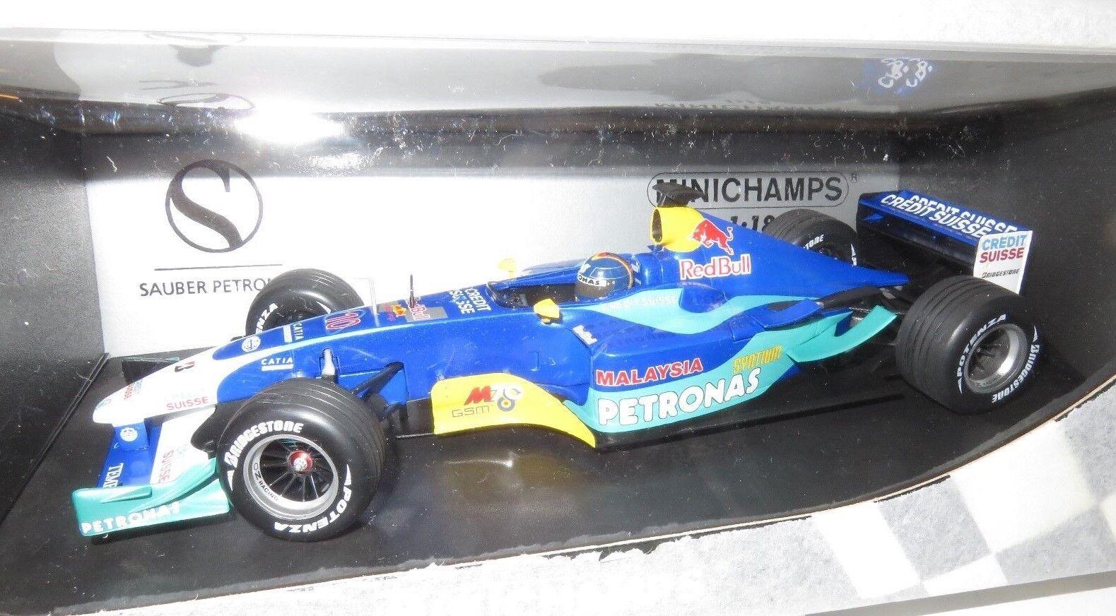 1 18  Red Bull Sauber Petronas C22  H.H.Frentzen    2003 Season