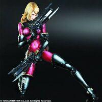 Captain Harlock Kei Nausicaa Square Enix Play Arts Kai Action Figure Nip