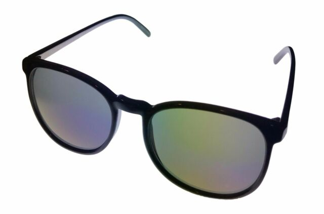 76ef817d0e4 Perry Ellis Mens Sunglass Black Plastic Square Blue Flash Lens Pe57 ...