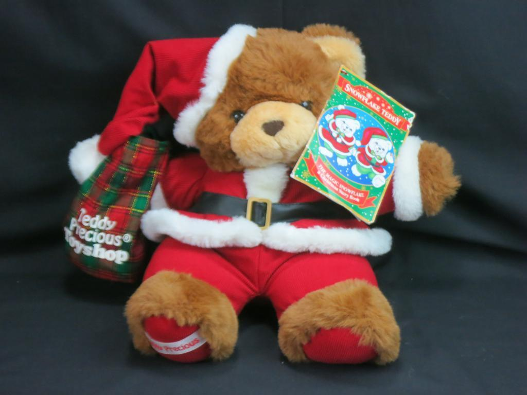 MAGIC SNOWFLAKE TEDDY PRECIOUS TP TOYSHOP CHRISTMAS PLUSH STUFFED ANIMAL TOY NEW