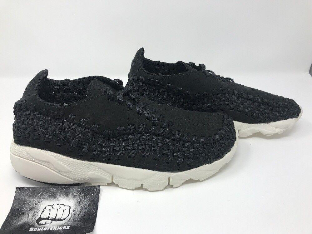 Nike air footscape footscape footscape woven nm - bei schwarz - -  7,5 d507e1