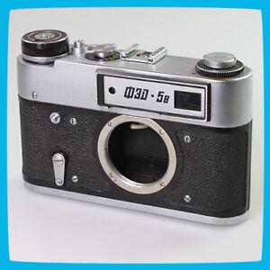 1982 old vintage FED 5B Soviet Russian CCCP USSR 35mm Film Rangefinder Camera - Warszawa, Polska - 1982 old vintage FED 5B Soviet Russian CCCP USSR 35mm Film Rangefinder Camera - Warszawa, Polska