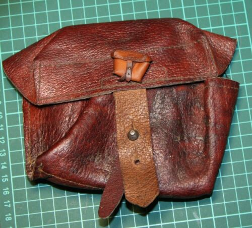 1:6 Soviet ww2  SVT//Mosin rifle Pouch Custom made accessory natural leather