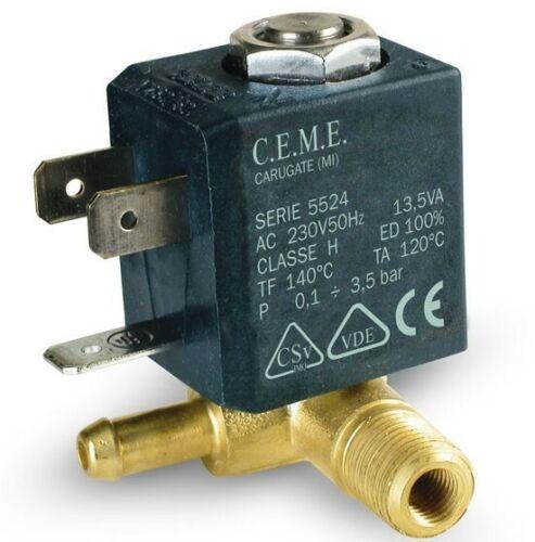 M2 Ceme 588 Magnetic Valve G1//8 230V//50Hz Steam Ironing Station Steam Cleaner