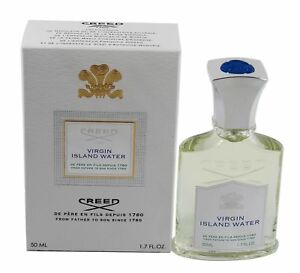 creed virgin island water 1 7 1 6 oz edp spray new in. Black Bedroom Furniture Sets. Home Design Ideas