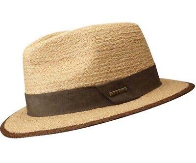 Miuno® Herren Cowboy Hut Party Stroh Hut mit Gürtelband H51021 Raffia