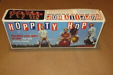 Hoppity Hop Red Vintage Bounce Ball in Unopened Box 1968 Hippity Bouncing Fun