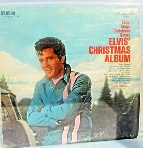 Elvis Christmas Album Vinyl.Details About Elvis Presley Elvis Christmas Album Vinyl Lp Cal 2428 Rca Records 1970