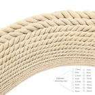 5-20mm Diameter Cotton Three twisted Rope Twisted String Cord Twine Sash Craft C