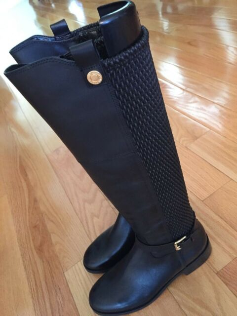 50fcf3021cd NWOB Cole Haan Galina Riding Tall Black BOOTS Sz 6.5 EU 37 for sale ...