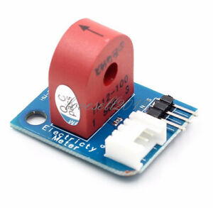 C 0~5A Analog Current Meter Ammeter Sensor Board for Arduino PIC AVR MC