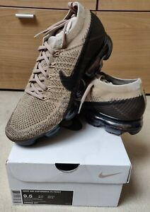 Nike-Air-Vapormax-Flyknit-1-0-UK-Size-8-5-Brown-RRP-180-Genuine-Original