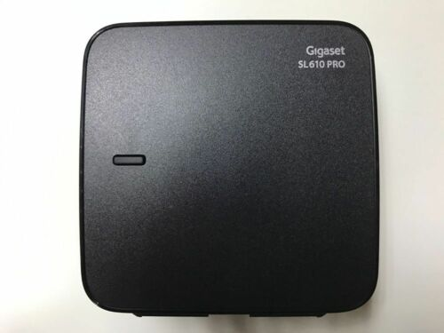 Gigaset sl610 pro base + fuente alimentación Gigaset apto para todos Gigaset partes móviles