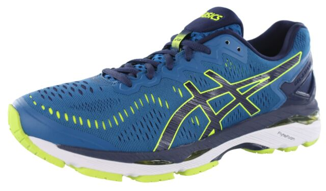 a9079c964546 Mens ASICS GEL Kayano 23 T646n Running Shoes Thunder Blue safety ...