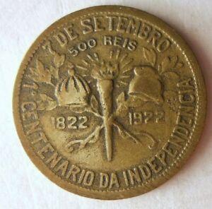 1922-Brasil-500-Reis-Excelente-Coleccion-Brasil-Bin-B