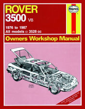 Rover 3500 SD1 Reparaturanleitung Haynes workshop repair service manual SD 1 V8