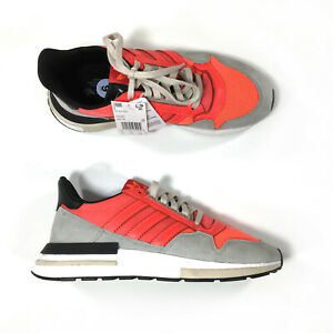 NEW-Adidas-ZX-500-RM-Boost-Shoes-Mens-Sz-9-Solar-Red-DB2739-Sneakers
