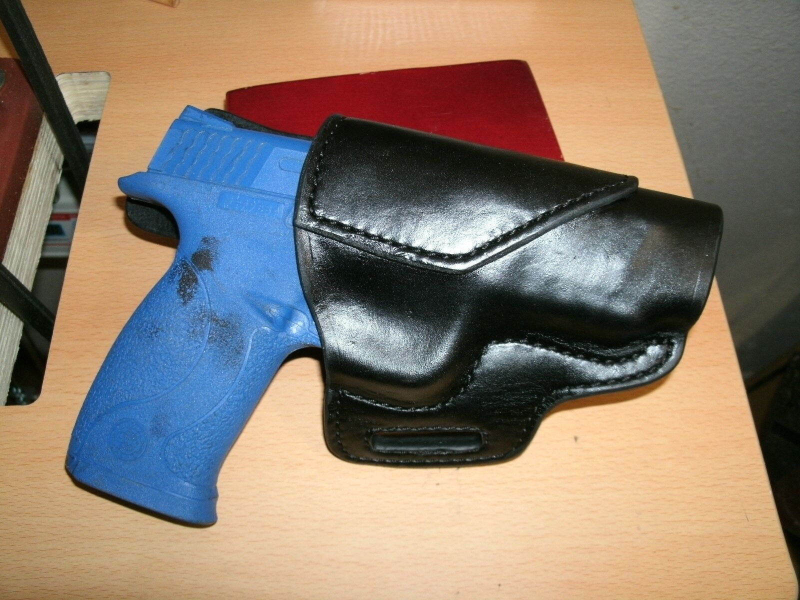 Leather Avenger Holster for Smith & Wesson M&P Bodyguard Handmade in the USA