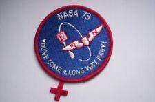 Nasa Aufnäher/Patch  NASA 73 ca 7,5 cm