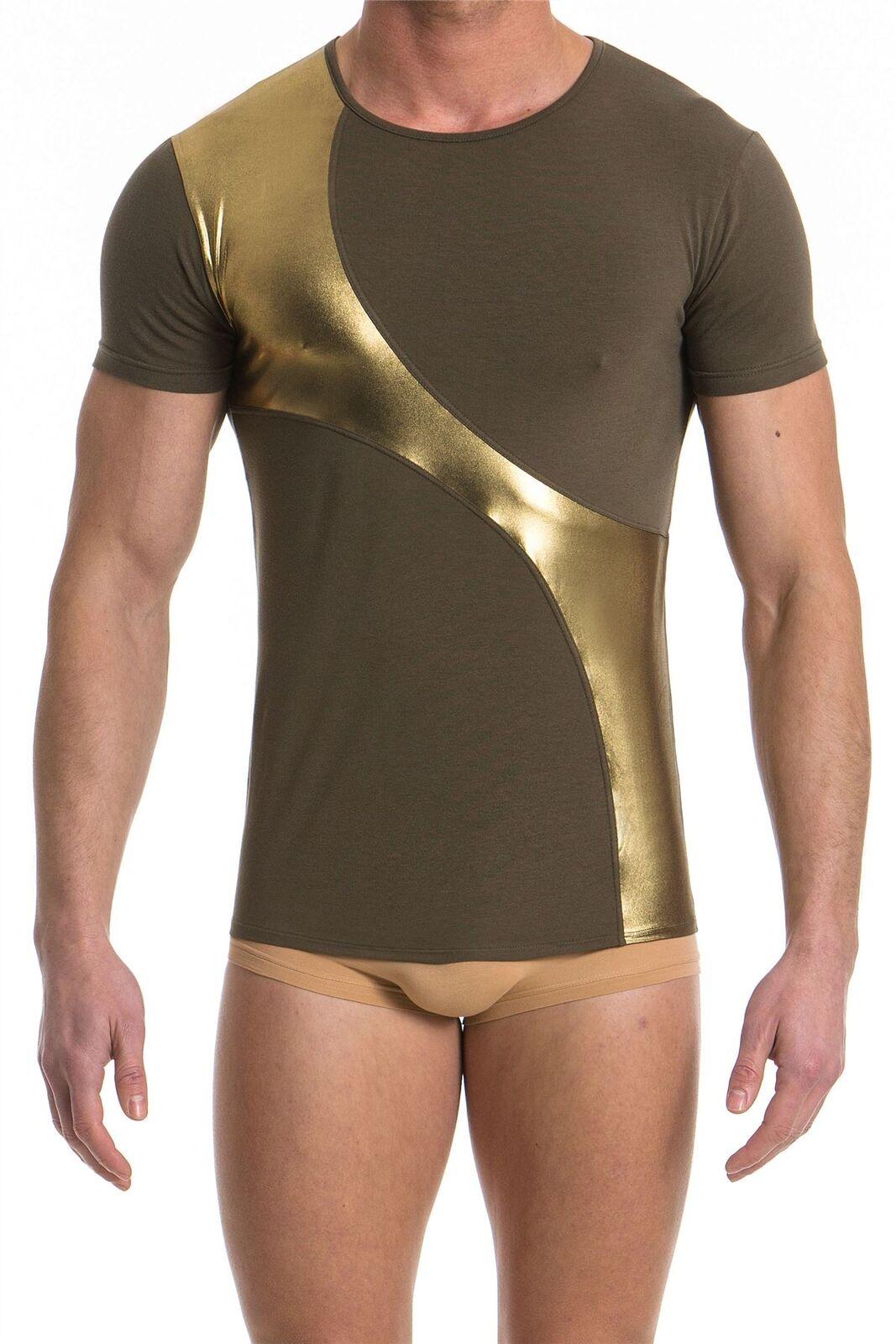 Modus Vivendi Dusk 2 Dawn T-Shirt Designer Shiney Gold Soft Comfortable